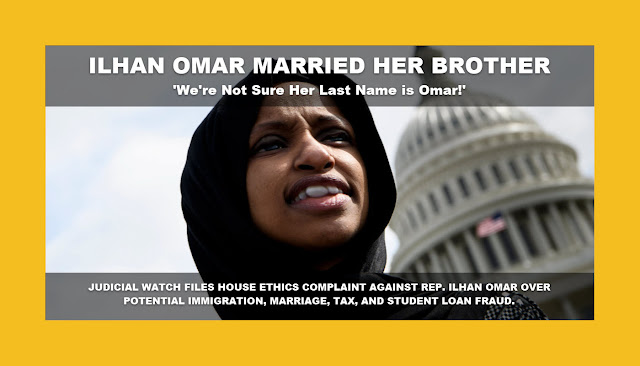 Memes: ILHAN OMAR MARRIED HER BROTHER
