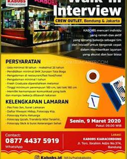 Lowongan Kerja Kabobs Bandung Premium Kebab Update 2020