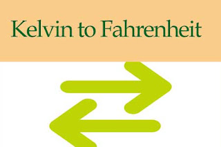 Kelvin to Fahrenheit