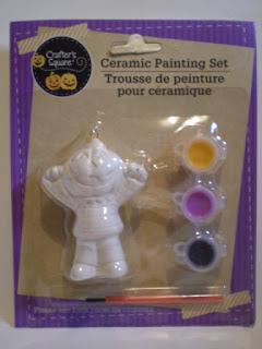 Crafter's Square Pumpkinhead Ceramic Painting Set