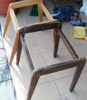 odnawianie krzesła aga krok po kroku