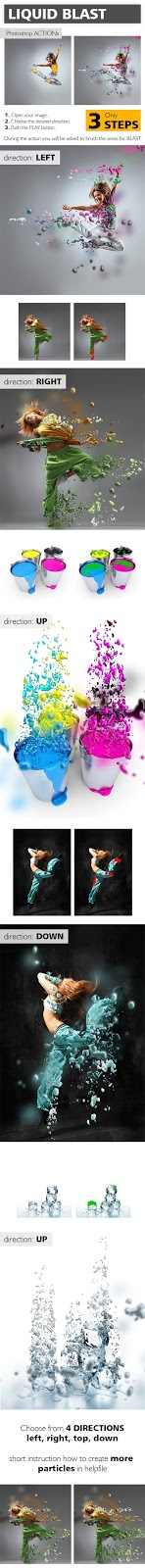 Liquid Blast Photoshop Action (GraphicRiver – 10267688)