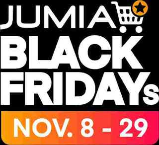 Jumia Black Friday, Nov. 8th to 29th