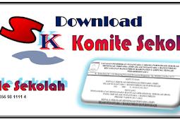 Download SK Komite Sekolah Terbaru 2019/2020