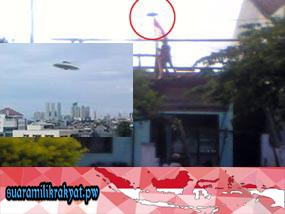 'UFO' di Banyuwangi, Jawa Timur
