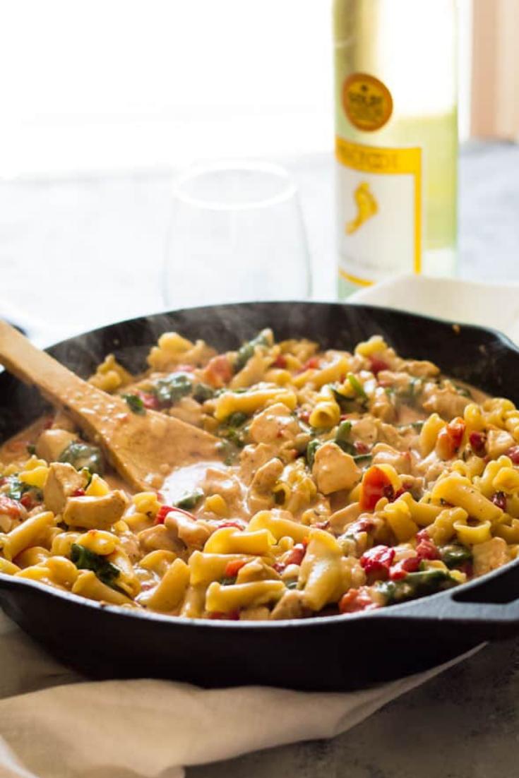 Chicken Florentine Pasta Recipe