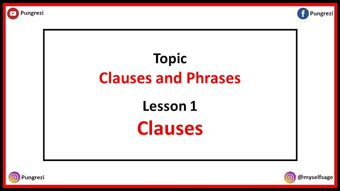 1. Clauses