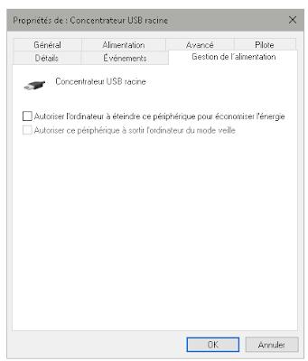 Concentrateur USB racine