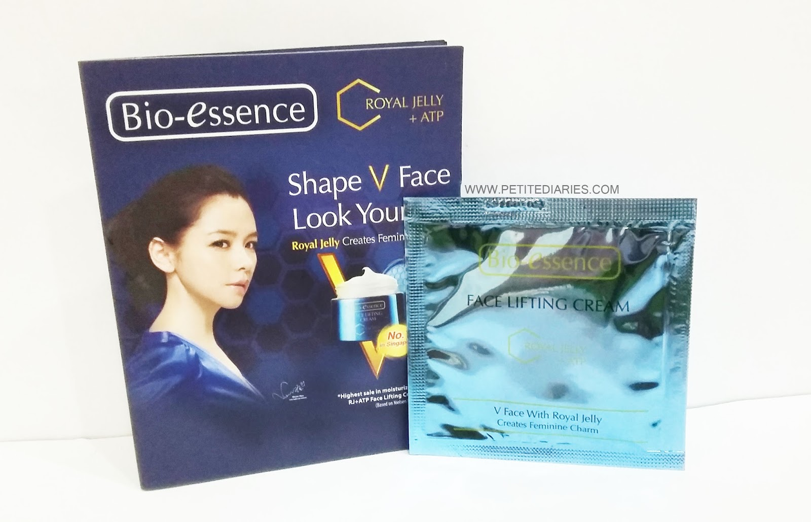bio essence v shape lifting cream review