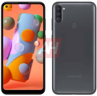 Samsung-galaxy-A11-infinity-O-display