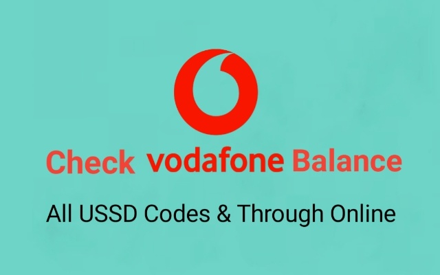 How to Check Vodafone Balance | All updated USSD Codes and online method