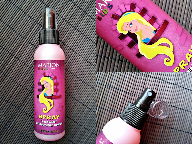 Marion Kids - Multiwitaminowy spray ułatwiający rozczesywanie włosów