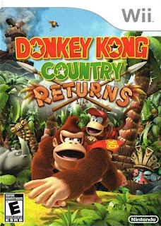 Portada del DVD de Donkey Kong Country Returns para Wii (Retro Studios, 2010)