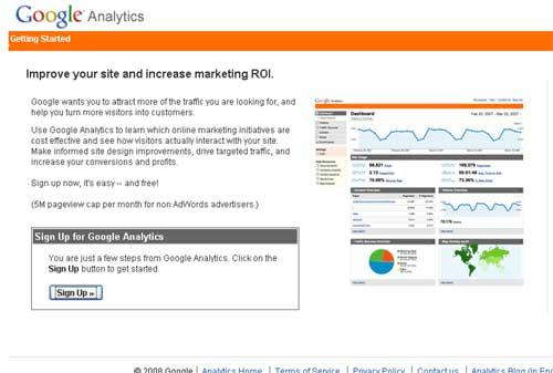 Free Web Statistik dan Analisis