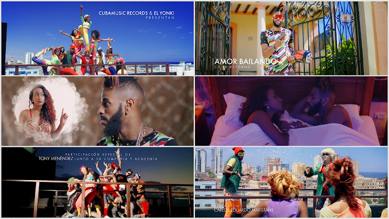 El Yonki - ¨Amor bailando¨ - Videoclip - Director: Carlos Eduardo Maristany. Portal Del Vídeo Clip Cubano