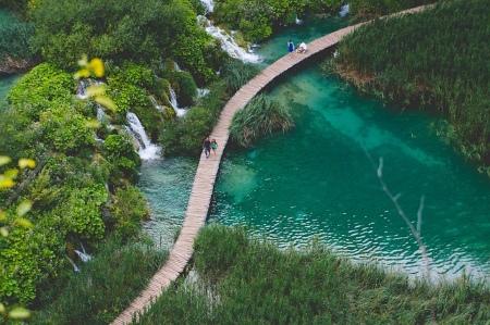 A Plitvice-tavak manapság