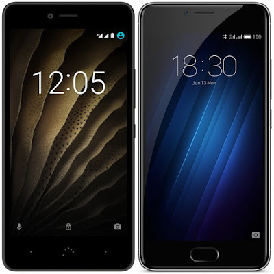 bq Aquaris U vs Meizu M3s