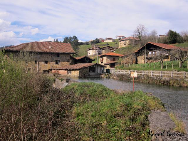 Barrio Ugarte en Orozko (Bizkaia)
