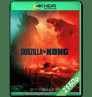 GODZILLA VS. KONG (2021) HMAX WEB-DL 2160P HDR MKV ESPAÑOL LATINO