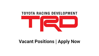 Toyota Racing Development March Jobs In Pakistan 2021 Latest | Apply Now