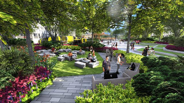 Tiện ích dự án căn hộ Picity High Park