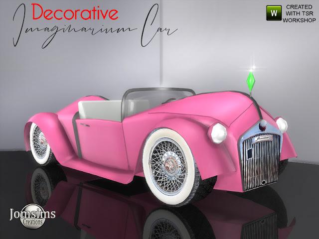 decorative car La Parisienne for Sims 4 Автомобиль Imaginarium (Декоративный) для The Sims 4 Imaginarium декоративный автомобиль Sims 4. Среда 6. В 4 оттенках я не вдохновлялся ни одной машиной, я просто представляю, забавная машина. Стиль духа симов. использовать его для украшения или для поз. найти в области misc deco в игре. Автор: jomsims