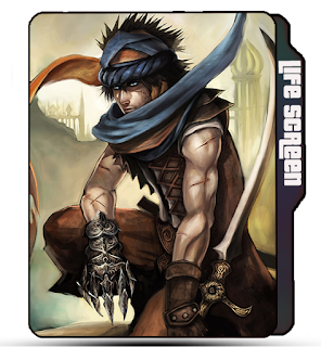 Prince of Persia folder icon, Pop game icon, Pop Official icon, Sword man, Eagle claw icon, Pop
