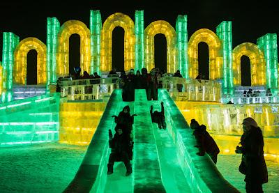 Harbin Ice Festival Cina