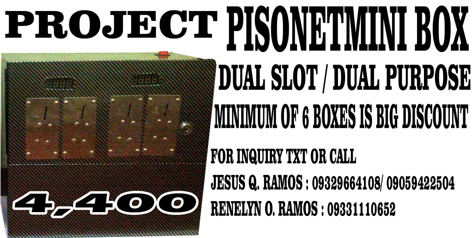 pisonet business plan sample