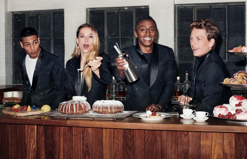 Model Hannah Ferguson and chef Marcus Samuelsson star in H&M Holiday 2019 campaign