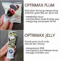 Buah Plum Delite Diet Detox Kurus Slim 10 PCS Optrimax Herbal Original Aman Healthy Fruit Optimax