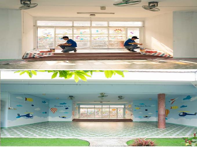 AkzoNobel 'Khoác Áo Mới' Cho Trường Mẫu Giáo Làng Trẻ Em SOS