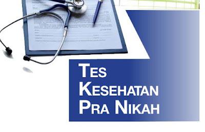 Tes Kesehatan Pra nikah, Tes Kesehatan
