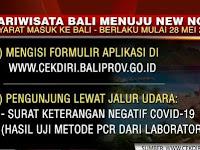 Tatanan Normal Baru/New Normal Besok Mulai Di Pemkab Buleleng Bali