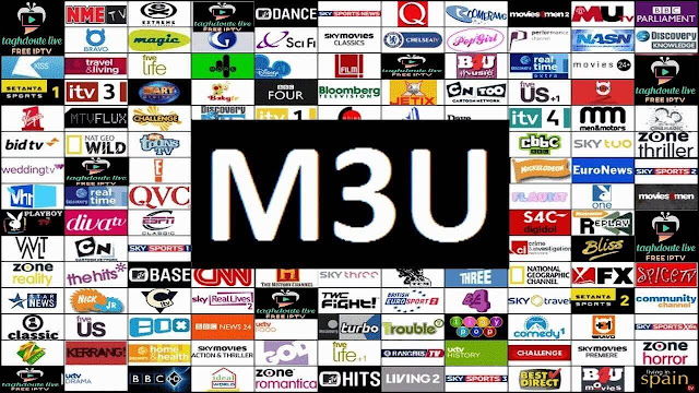 IPTV M3U free Links IPTV Free premium channels (2021) for smart tv, Android tv, pc and cell phone. M3u or url list
