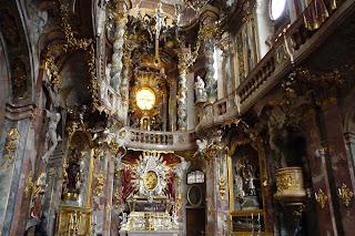 Interior de la Asamkirche.