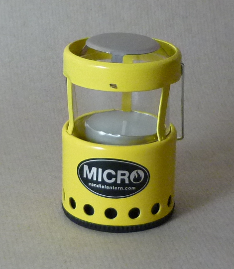 Mini Candle Stove: UCO Candle Lanterns - Mini Vs Micro