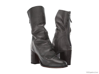 Botas de Cuero Negras para Mujer