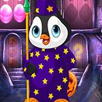 Games4King - G4K Magician Penguin Escape Game