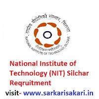 National Institute of Technology (NIT) Silchar Reqruitment