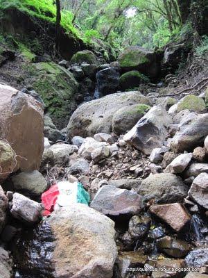 Cerro Viejo - Poco antes de una fosa de 2 m de profundo
