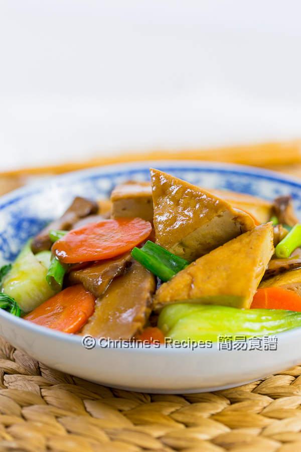 紅燒豆腐 Braised Tofu04