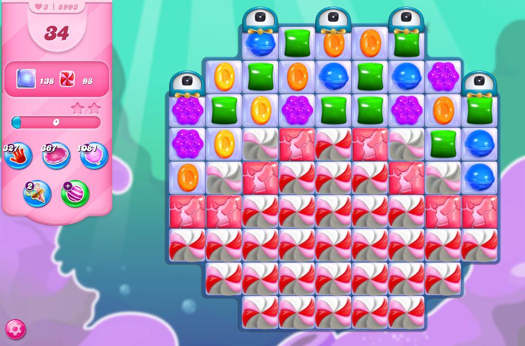 Candy Crush Saga level 8993