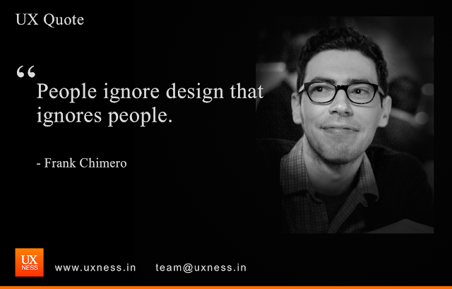 UX Quote - Frank Chimero