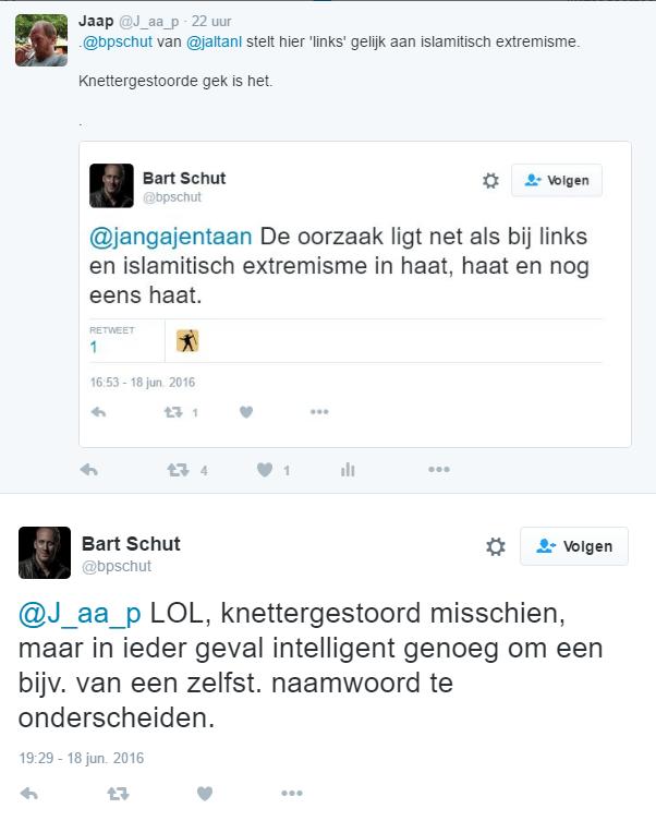 De 'intelligentie' van Bart Schut