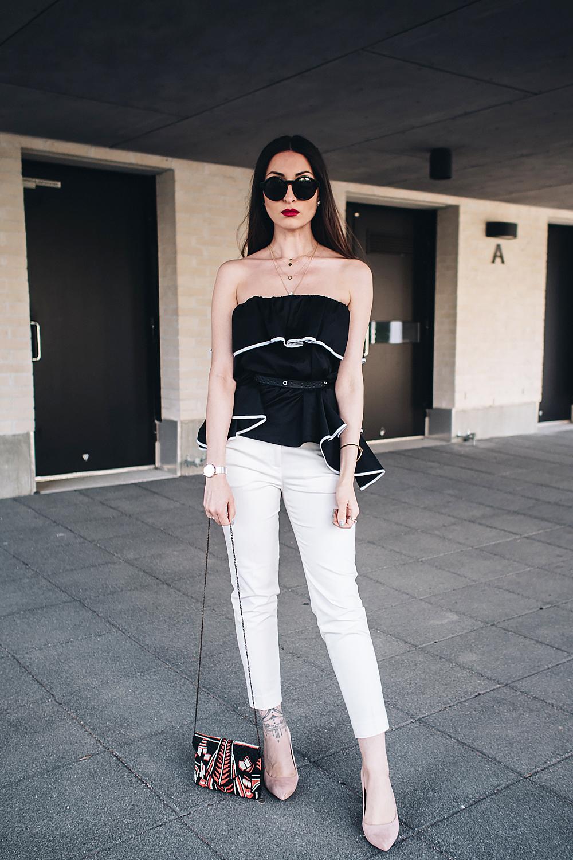 Zara musta paita