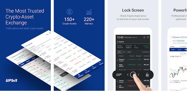 Upbit : Cara Mendapatkan Uang Gratis dari Aplikasi Upbit Android