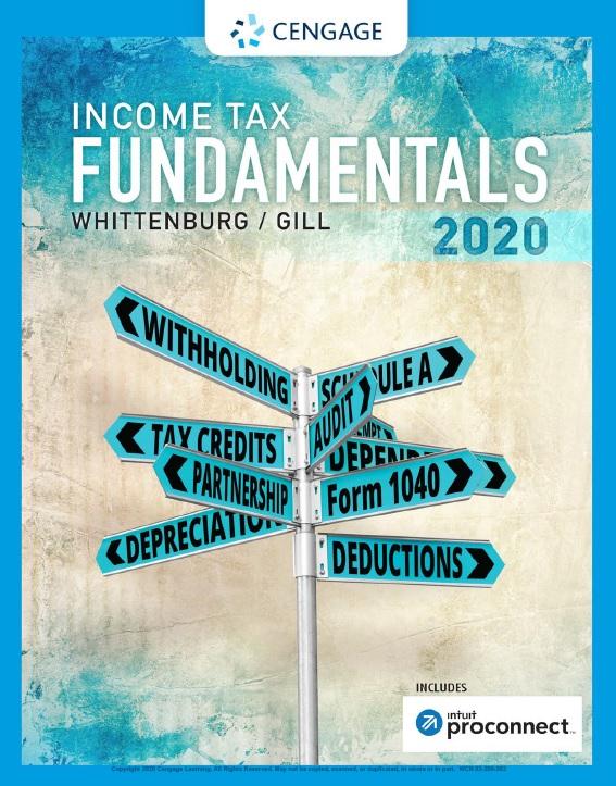 Income Tax Fundamentals, 38th Edition