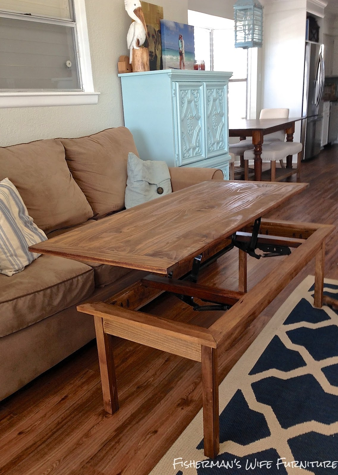 Fisherman's Wife Furniture: DIY Coffee Table