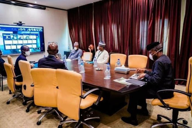 Osinbajo, IMF, World Bank meet on economic stimulus